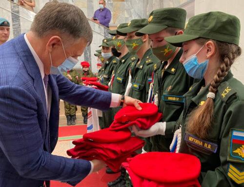Ангарск: состоялось торжественное награждение победителей военно-патриотического конкурса «Юнполигон»