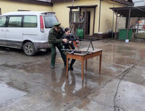 Усть-Кут: прошёл День открытых дверей для юнармейцев района
