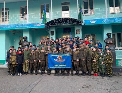 Ангарск: состоялось испытание на право ношение голубого берета